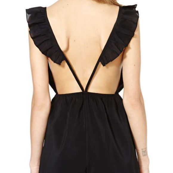 1ecbe00fae7 Reverse Flutter Sleeve Playsuit. NWT. Urban Outfitters