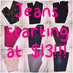 Denim - AD: Tons of Jeans in Our Closet!! Regular to Plus
