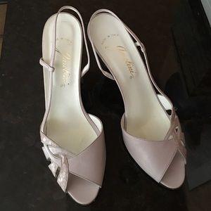 Garolini Shoes - Garolini Lilac leather slingbacks (Vintage