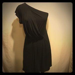BCBGeneration Little black dress , one shoulder