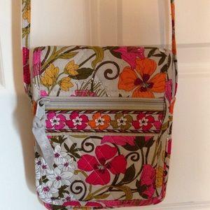 Mini hipster cross body purse