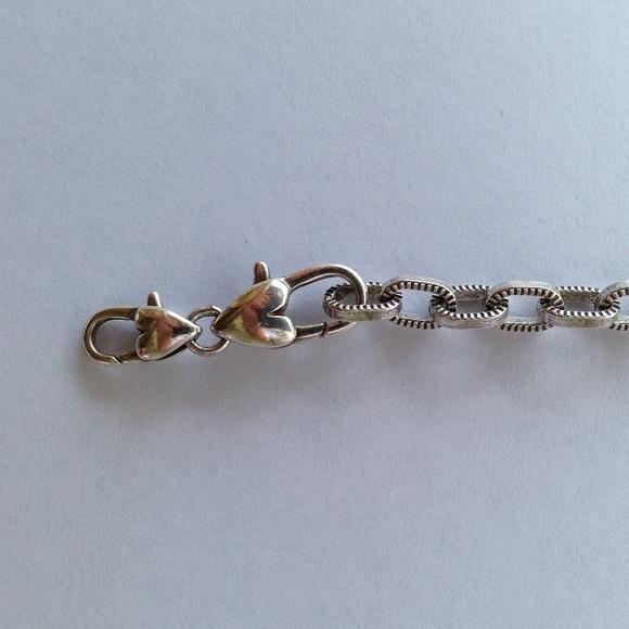 Starter Charm Bracelet: BRIGHTON ABC STARTER SILVER CHARM BRACELET From