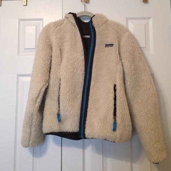 Patagonia Jackets Amp Coats Fuzzy Retro Style Jacket Size