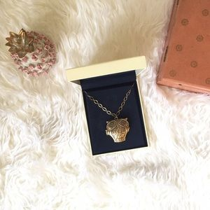 Lucky Brand Jewelry - Lucky Brand Brass Owl Locket Necklace
