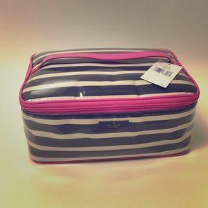 Kate Spade ||  cosmetic/toiletries travel bag