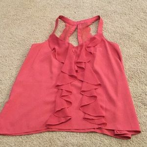 LC Lauren Conrad Tops - LC Lauren Conrad pink tank