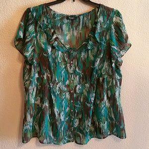 Anna Scholz Tops - Sale!! Dressy Blouse size 2x