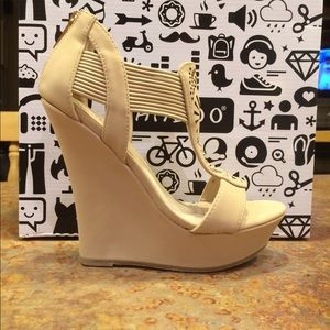 Bamboo 5 inch wedges BEAND NEW