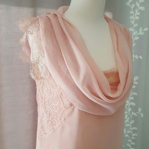 Beautiful Pink Blouse with Lace details