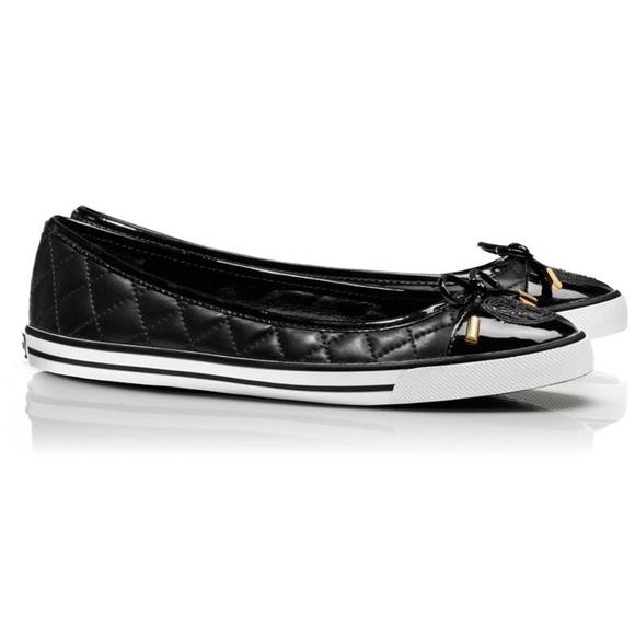 90f23537fe05 Tory Burch Skyler Quilted Sneaker Flats. M 577d6037ea3f36055e00a7d3