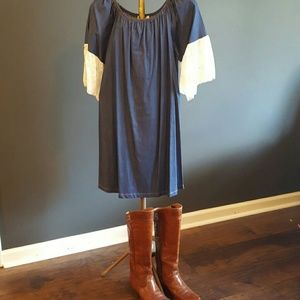 Dresses & Skirts - Soft Denim Dress  (NWT)