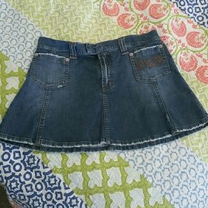 Dolce & Gabbanna jean mini skirt