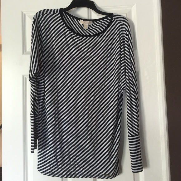 dcc82e09ffb0 MICHAEL Michael Kors Tops | Michael Kora Striped Dolman Sleeve Top ...