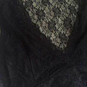 5f3cf9a822dca ASOS Curve Tops - Boohoo lace bralette crop top