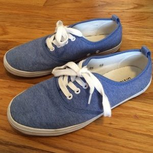 H&M Blue Canvas Sneakers