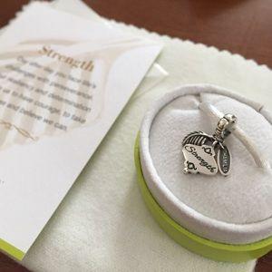 Chamilia Jewelry - Chamilia .925 Sterling Silver Strength charm
