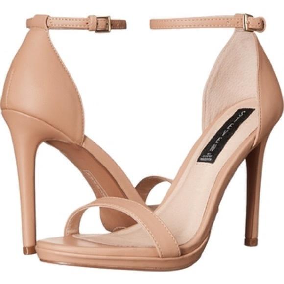 7178489e577  Steven by Steve Madden rykie ankle-strap sandals.  M 577d7e482de5128ffc0bd0cb