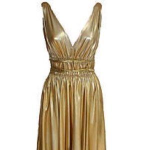 Gold Goddess Dress