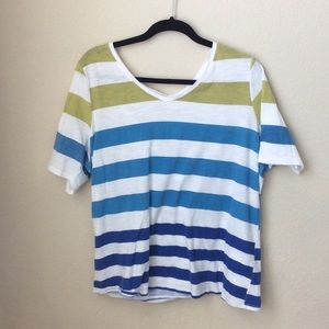 Lane Bryant Striped Tshirt