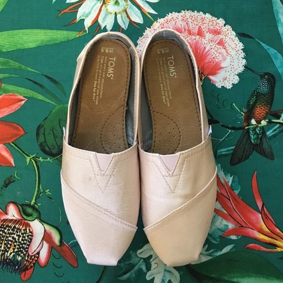 bcaa53a03066 New TOMS Petal Grosgrain Women s Classics! M 577d95e12de512123e0bf895.  Other Shoes ...