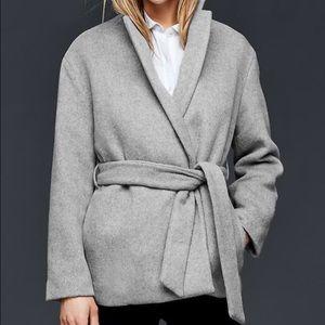 GAP Jackets & Blazers - Gap Wool Wrap Coat