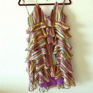Haute hippie fluffy dress