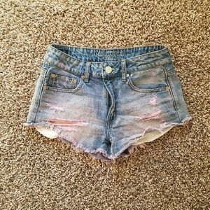 American Eagle festival shorts