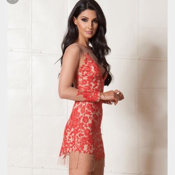 f0281c9eee848 For Love and Lemons Dresses | For Love Lemons Luau Lace Mini Dress ...
