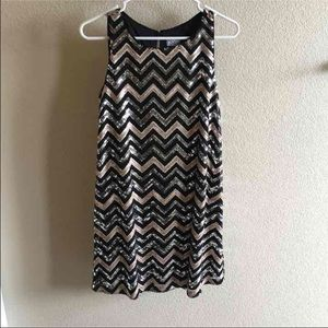 Dresses & Skirts - RSVP sequined dress size small