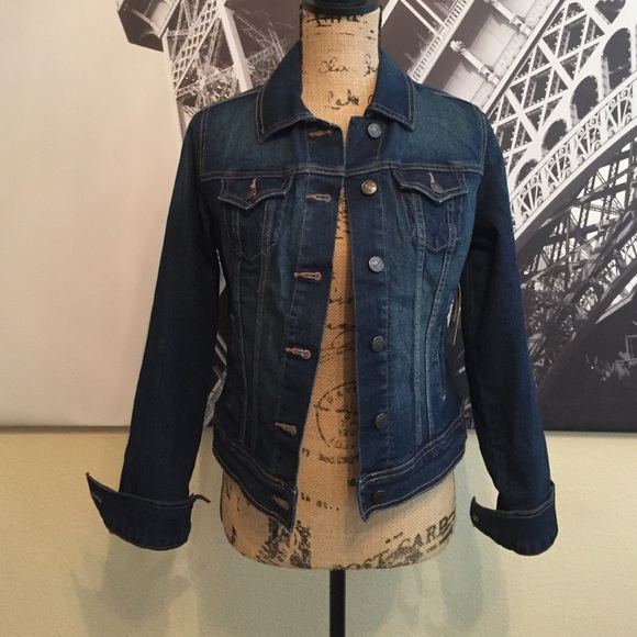Old Navy - NWT Old Navy XS Denim Jacket from Kimberly's closet on ...