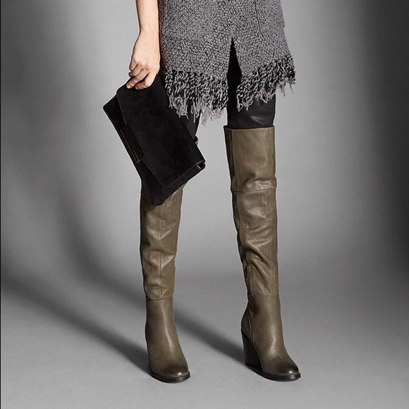 66% off ALDO Shoes - Thigh-High Pull On Boots! from Live. love