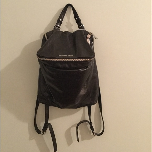 michael kors bags leather lisbeth backpack poshmark rh poshmark com