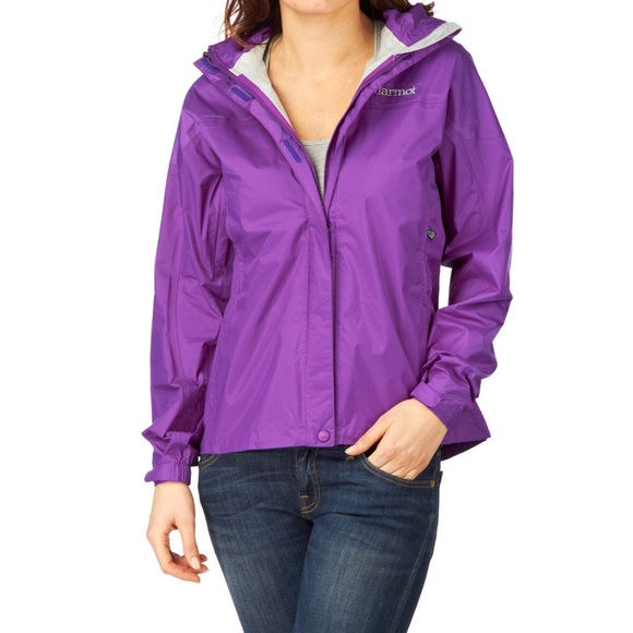 81% off Marmot Jackets & Blazers - Marmot Purple Rain Jacket ...
