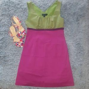 Boden Dresses & Skirts - {Boden} UK Block Green Pink Purple Dress