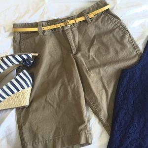 Gap khaki bermuda shorts.