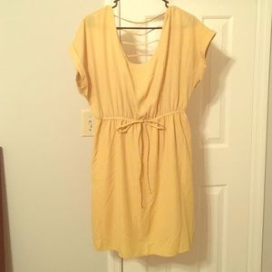 Francesca's Collections Dresses & Skirts - Francesca's Collections mustard yellow dress