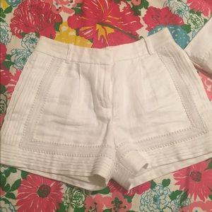 JCrew Linen Tailored Short