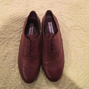 Steve Madden Shoes - Steve Madden brown lace up shoes 8.5