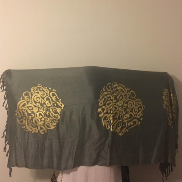 Arabic Calligraphy Scarf Shawl Os From Nora 39 S Closet On