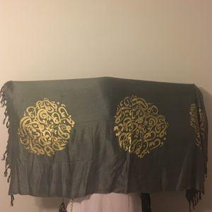 Arabic Calligraphy Scarf/Shawl