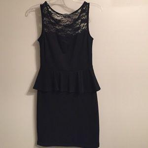 Dresses & Skirts - Peplum little black dress