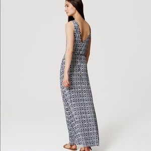 5b32fab4378 LOFT Dresses - NWT LOFT Diamond Double V Maxi Dress