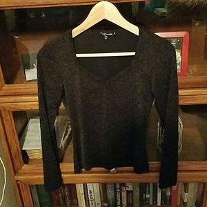 My Michelle Tops - Black Shirt
