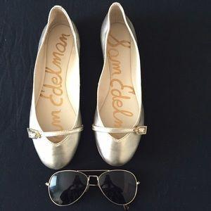 Sam Edelman Shoes - Brand New Sam Edelman Flat leather shoes.