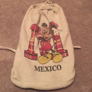 Mickey Mouse Mexico backpack