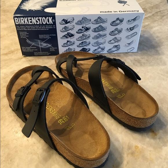 134f09189fa9 Birkenstock Shoes - Birkenstock Mayari Sandal black size 39