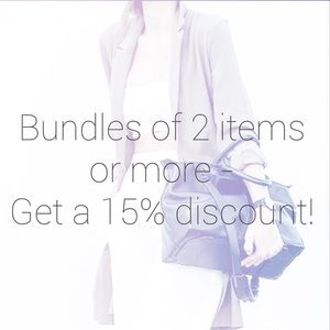 BUNDLES: 15% OFF TWO OR MORE ITEMS!