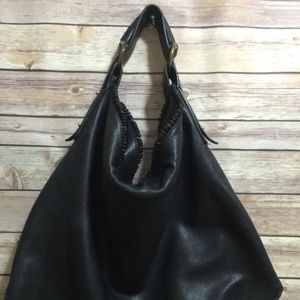 Large Gucci Leather Horsebit Bag