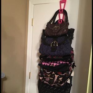 Other   Over The Door Purse Holder