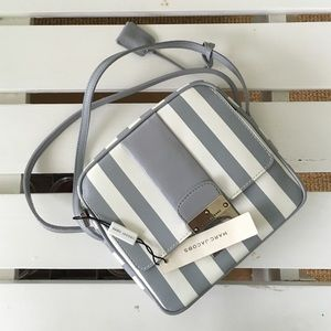 NWT Marc Jacobs Striped Leather Bag